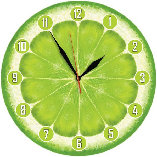 """Настінний годинник """"Лайм"""""""