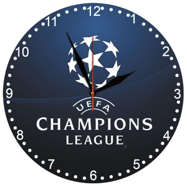 """Настінний годинник """"Ліга Чемпіонів"""" кварцевий"""