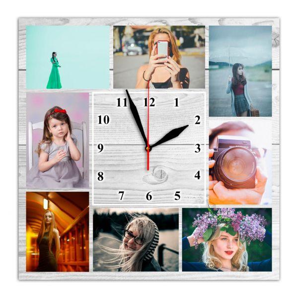 Фотоколлаж з годинником